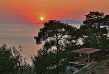 Faralya near Oludeniz Fethiye Turkey