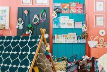 A Kiddie Room / Kids' bedroom designs, playhouse and decor.