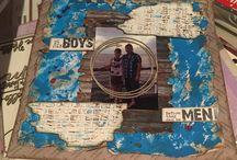 scrapbook layouts / Craftyjude's creations