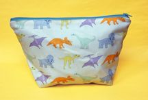 Makeup bags and wash bags
