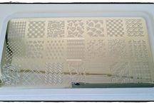 Harunouta - Placa BP-L013 / Manicuras,Nail Art