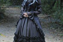 모델 드레스