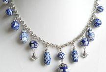 Delft blue jewellery
