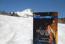 Phantom Wolf travels / Places where I traveled with my Nocturne book, Phantom Wolf