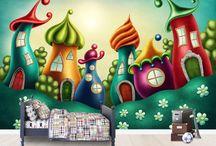 Cityscape Wall Murals