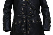 Will Turner Pirates Caribbean 5 Orlando Bloom Trench Leather Coat / Will Turner Pirates Caribbean 5 Orlando Bloom Trench Leather Coat is available at Slimfitjackets.co.uk with a special discount of Saint Patrick's Day and free shipping across UK, USA, Canada and Europe. For more visit: https://goo.gl/PUId1e