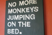 Monkey rooms... / by Patricia Langford