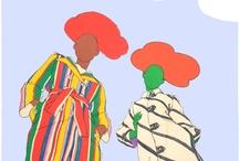 Antonio's fashion illustrations