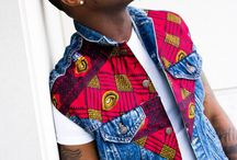 men's ideas with African prints