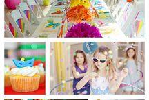 Inspiração Festas Infantis / Idéias para inspirar temas, comidinhas e decoração dos aniversários dos pequenos.