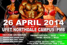 IFFB Re-shape PMB Classic Competition / Join us at the UFET Northdale Campus this Saturday for the IFFB Re-shape PMB Classic Competition.  TO ADD TO THE ENTERTAINMENT our I-Kandy DJs will be DJ'ing at the after party so be there!!!  For event info check out: https://www.facebook.com/events/640566932658793/