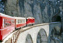 Journey on train