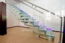 Modern staircase / Современные технологии в изготовлении лестниц