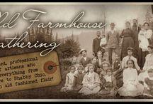 OLD FARMHOUSE  GATHERING