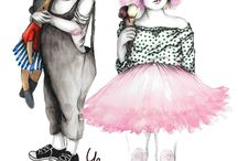 Kiddies Fashion Illustrations
