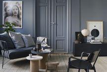 walls interior blue