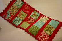 Quilt as you go table runner / by Sharon Fick