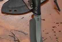 cuchillos/hachas