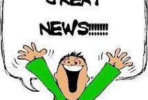Breaking News! / The latest & the greatest!