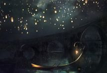 Stars Moon Cosmos