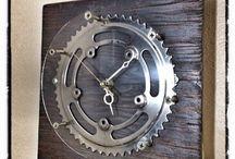 wall clocks from cycle motorcycle car parts