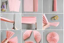 DIY paper decor