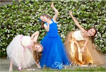 Flower Girl Tutu / Gorgeous made in USA Designer Tulle Skirts for flower girls, bridesmaids and Brides   So many colors, any size, any length http://www.tutusforwomen.com