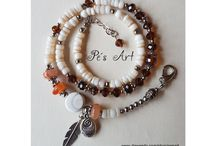 Pe's Art - Life is colorful / OOAK favorites: Boho, Hippie & Fantasy artisan bracelets, necklace, earrings and more