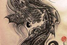 Koi dragon tattoo