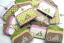 A Stampin up goodies