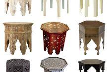 Morocco slide table