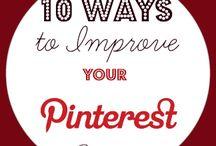 Social Media Hints & Tips / Ideas for Pinterest, Facebook, Twitter, Instagram, etc.