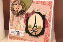 Dovecraft - Sweet Paris / Cards and other project from this theme