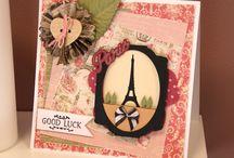 Cards...Sweet Paris