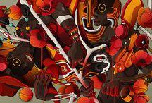 Stady's favorites of Julian Ardila / I went crazy, when I saw his illustrations first. I went crazy, when I saw his illustration twice. Awesome! https://www.behance.net/julianardila
