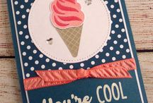 Eis, Eis Baby coole Kreationen Stampin' Up!