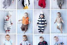 Weekly Baby photos ideas