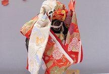 Japanese Kimono dolls