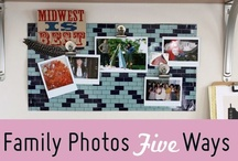 New ways to hang pictures  / by Dawn Smith