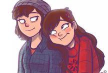Mabel x Dipper