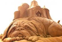 krásné výtvory z písku