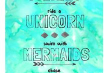 fairies unicorns mermaids rainbows