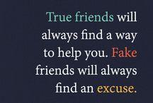 vrienden gezegdes