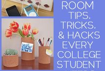 Dorm Ideas for twins / by Audra Caine-Wiant