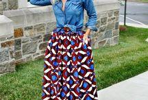 wax tartan blue & red / prints fabric decoration