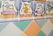 Azulejos decorados a mano / Alteret Cerámicas