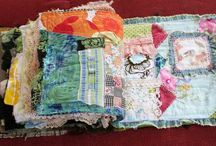 Fabric & lace Journals And Mini Albums