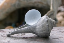 Sea glass / Jewelery from sea glass Fishing Float