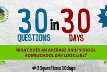 30 Questions in 30 Days / The answers to homeschoolers most FAQ!