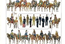 military uniforms 15th-18th cent.